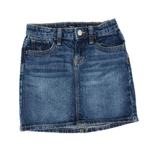 GapKids jean denim skirt